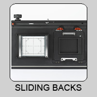 Sliding Backs for View Cameras and Accessories