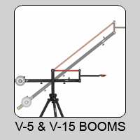 V5 and V15 Lightweight Boom and Accessories